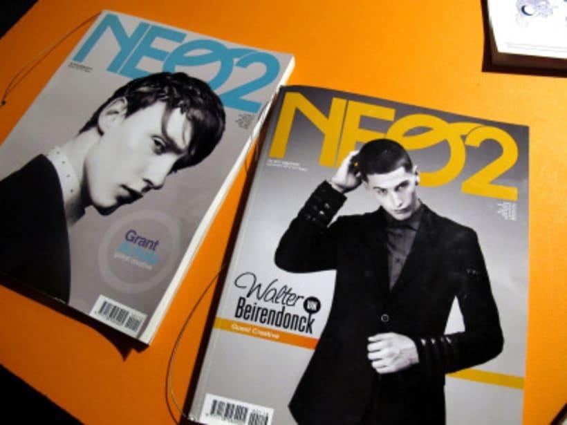 fanzine NEO2. Diseño Tipografía y Maquetación. -1