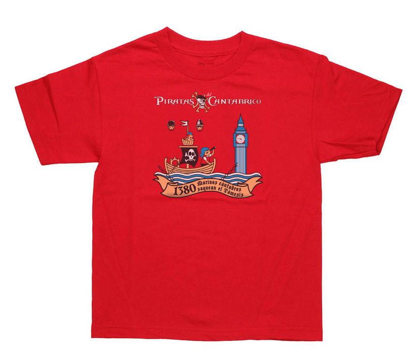 Camisetas PIRATAS DEL CANTÁBRICO 13