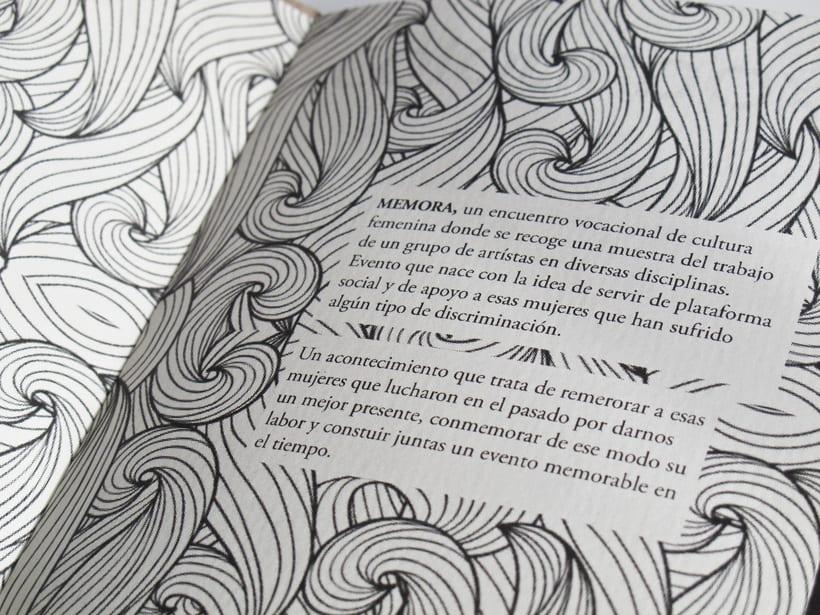 MEMORA. Diseño Editorial e Identidad del Festival 6