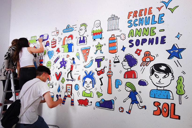 Mural en Anne Sophie 3