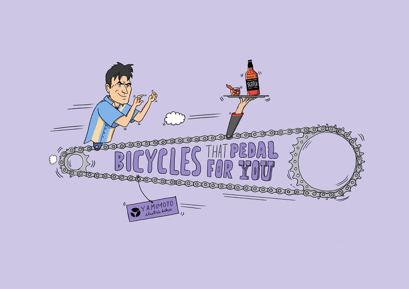 Bikes that pedal for you 1