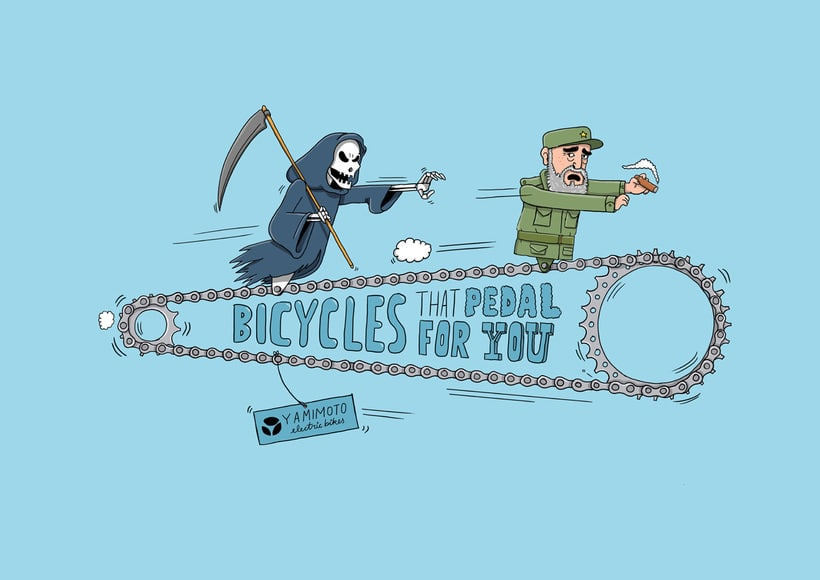 Bikes that pedal for you 3