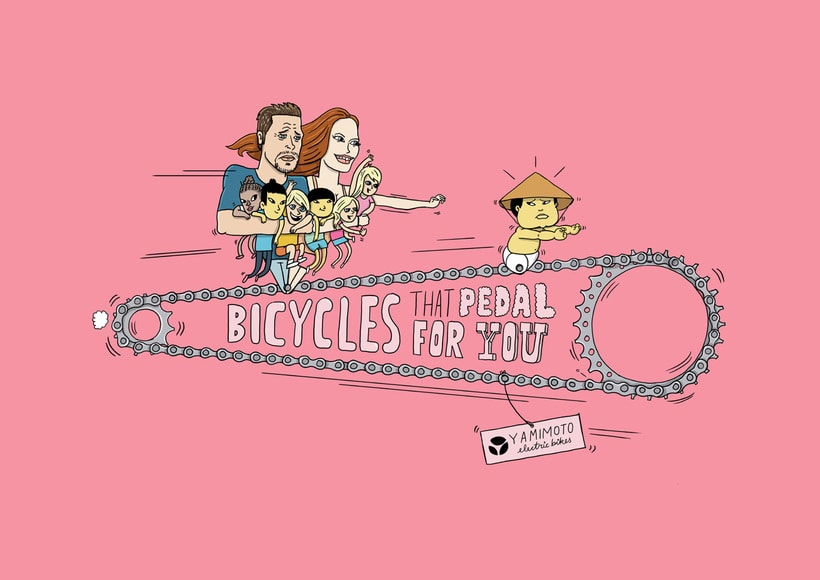 Bikes that pedal for you 4