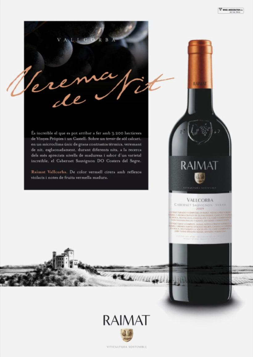Raimat: campaña gráfica para gama de vinos -1