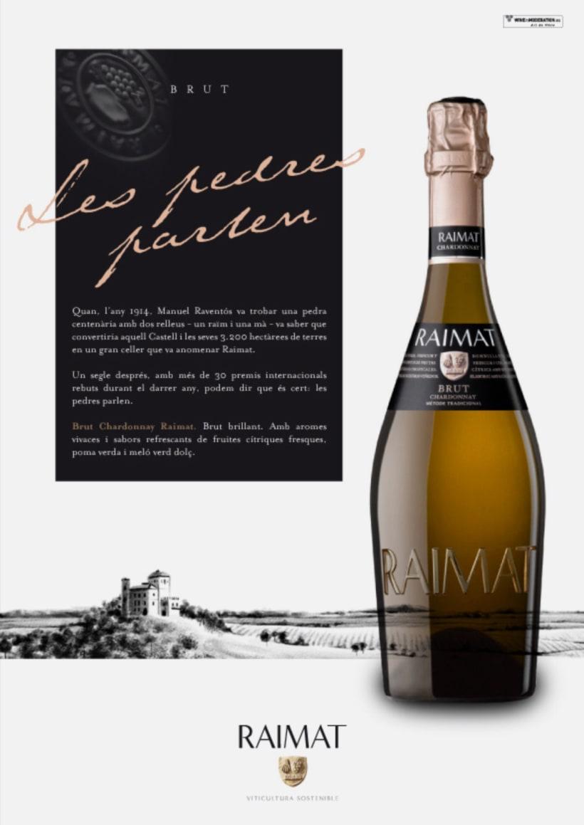 Raimat: campaña gráfica para gama de vinos 0