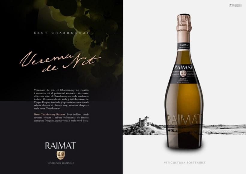 Raimat: campaña gráfica para gama de vinos 3