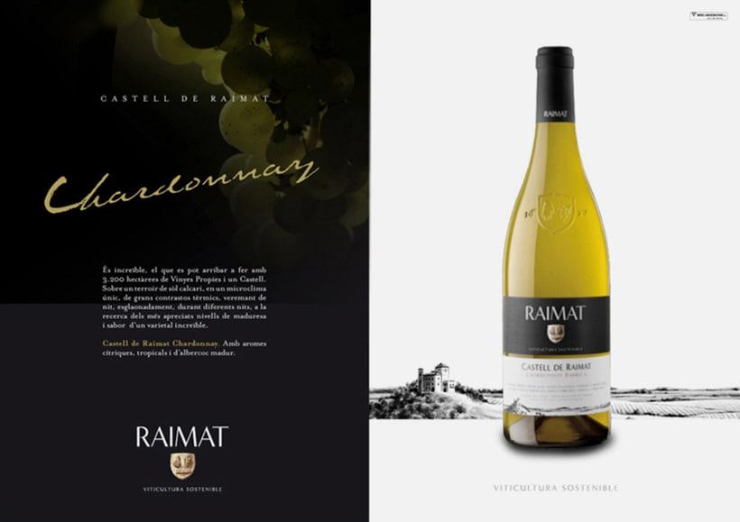 Raimat: campaña gráfica para gama de vinos 4