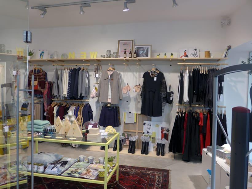 Concept: imagen de la tienda (gráfica e interiores) y materiales gráficos 9