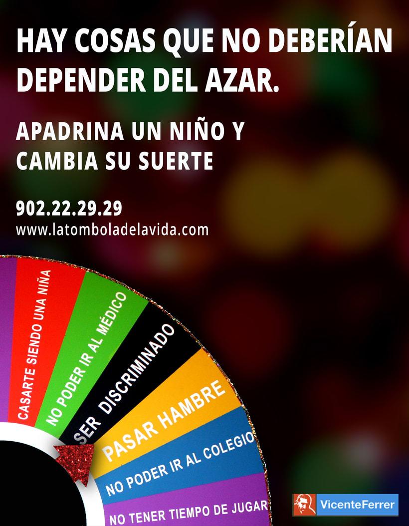 Proyecto Campaña Fundación Vicente Ferrer 0