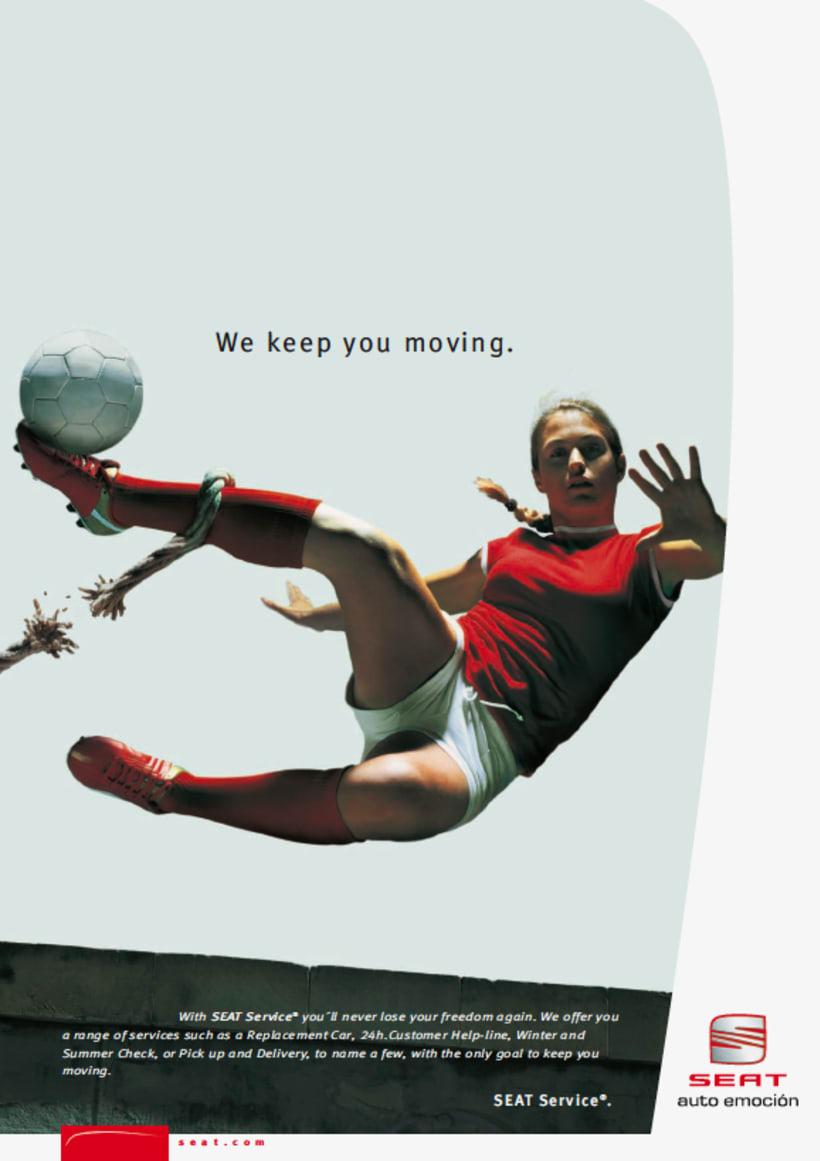SEAT: diseño de catálogos y anuncios de prensa (dirección de arte en foto 4