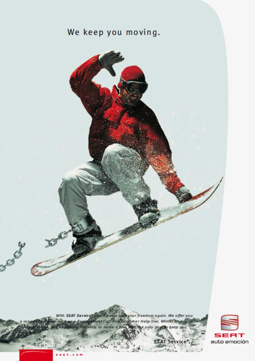 SEAT: diseño de catálogos y anuncios de prensa (dirección de arte en foto 5
