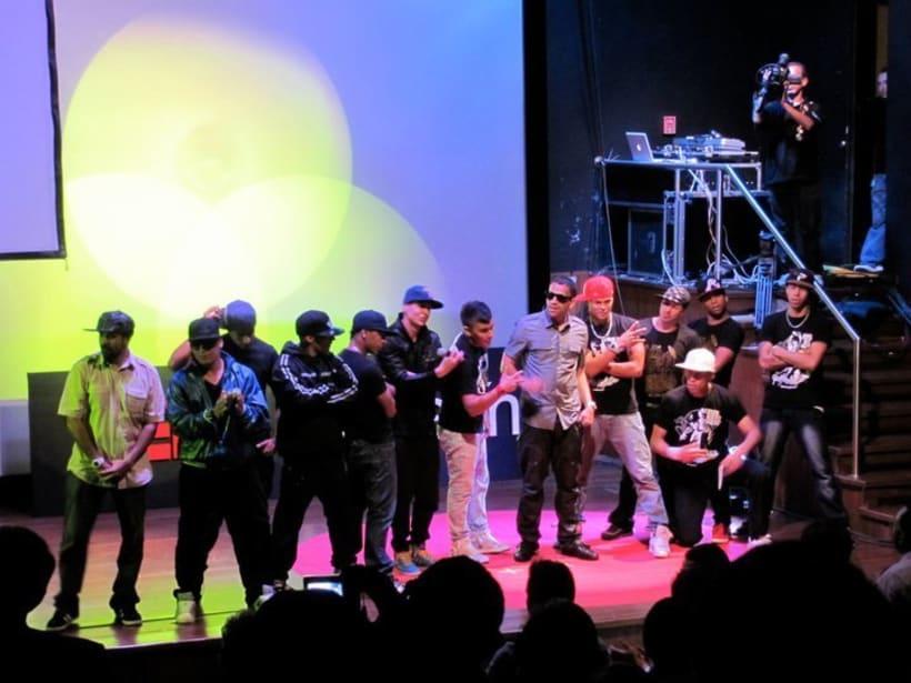 Junto a Boy Wonder en TEDX: Mentes Brillantes 2