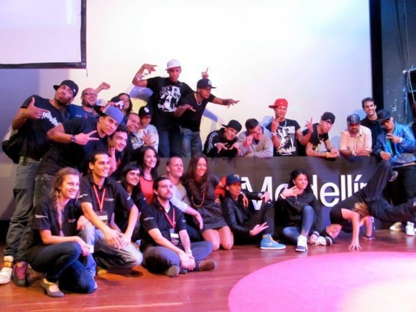 Junto a Boy Wonder en TEDX: Mentes Brillantes 3