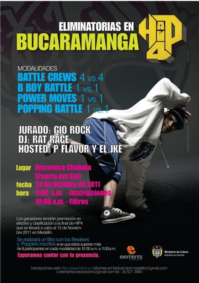 Jurado y tallerista en el Festival Hip4 Colombia  4