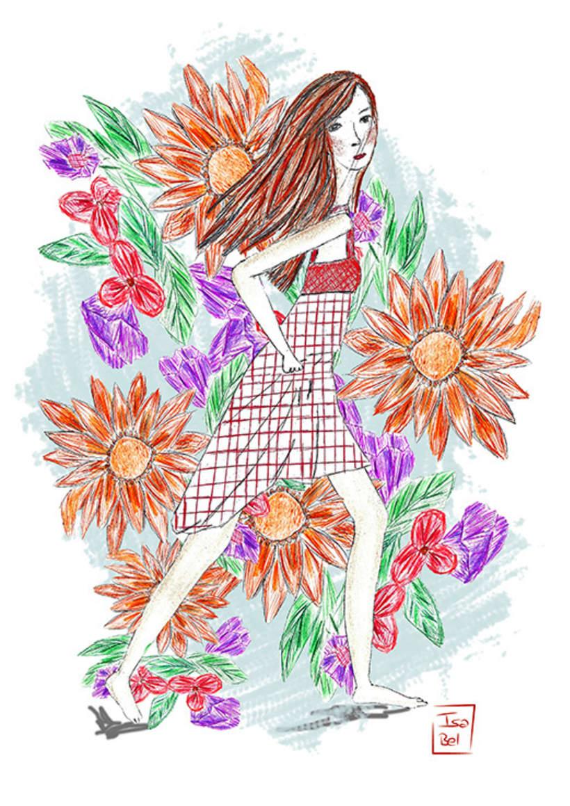 Ilustraciones de Isa Bel -1