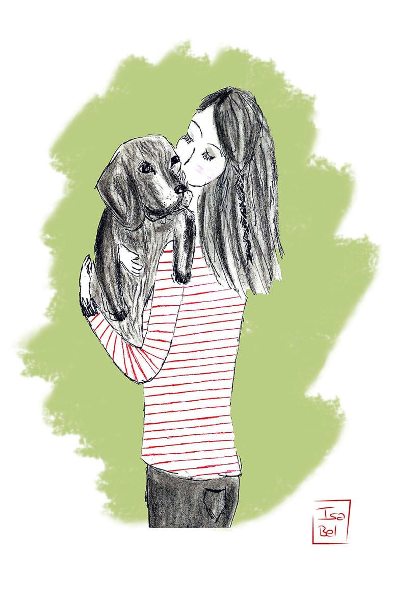 Ilustraciones de Isa Bel 1