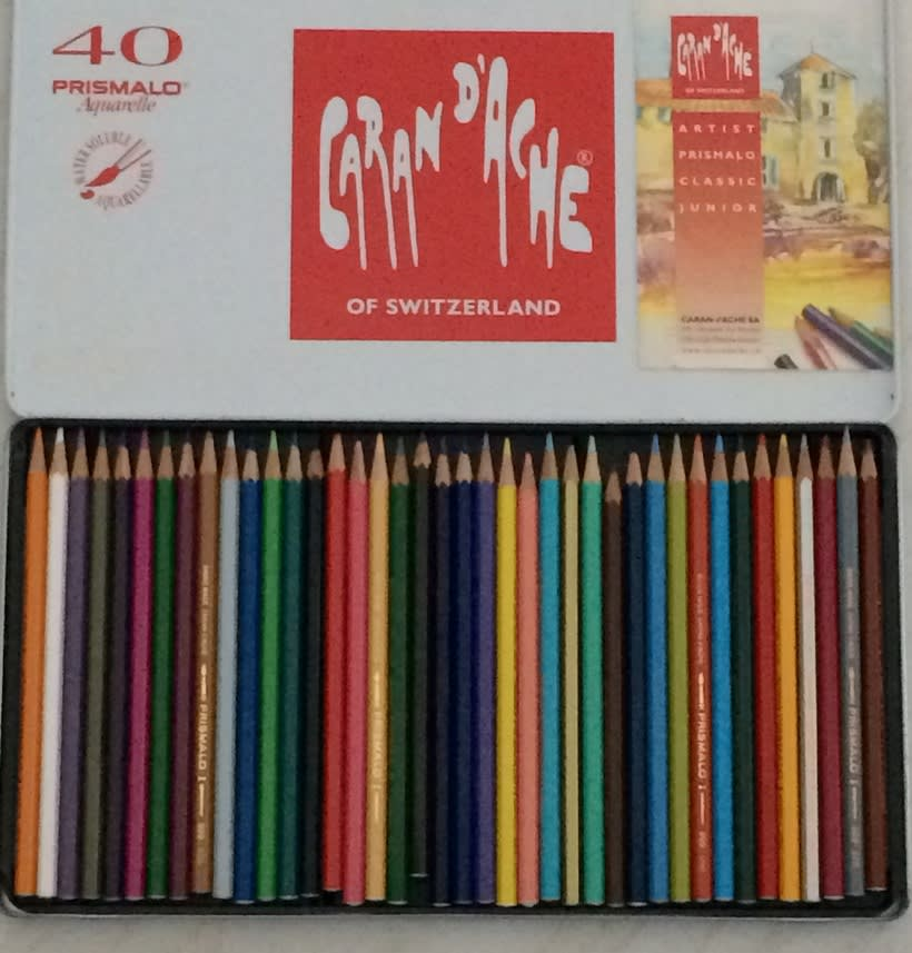 PRISMALO - Caja de 40 lápices de colores SOLUBLES 1