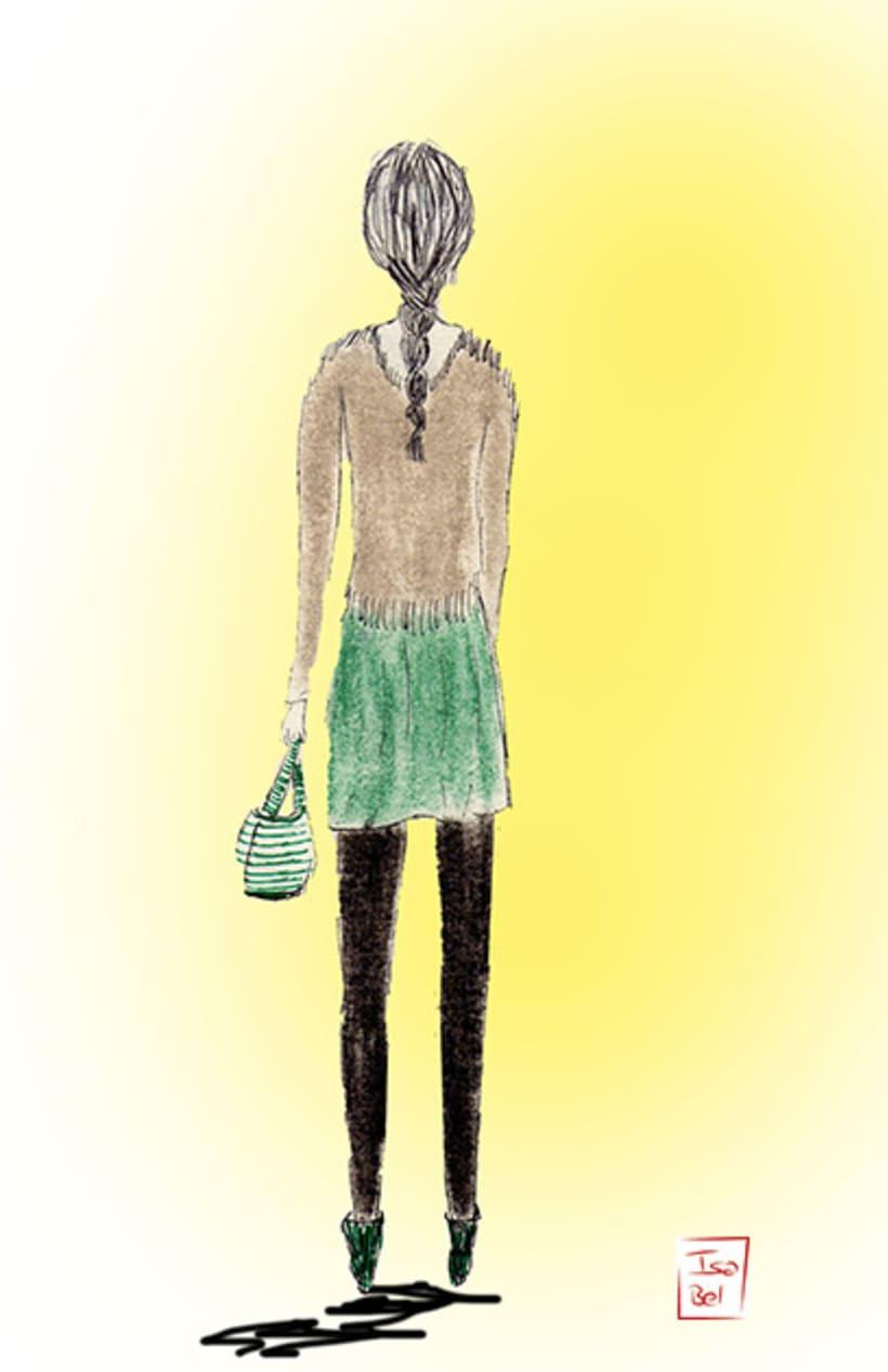 Ilustraciones de Isa Bel 5