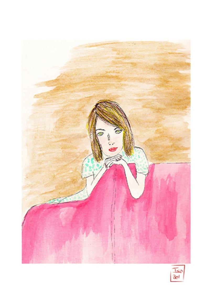 Ilustraciones de Isa Bel 6