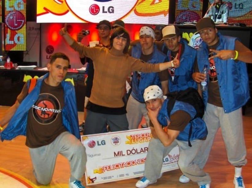 Tercer puesto en el LG Bboy Colombia  2