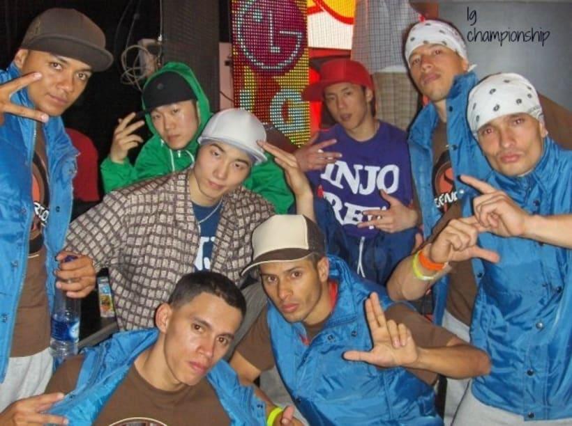 Tercer puesto en el LG Bboy Colombia  3