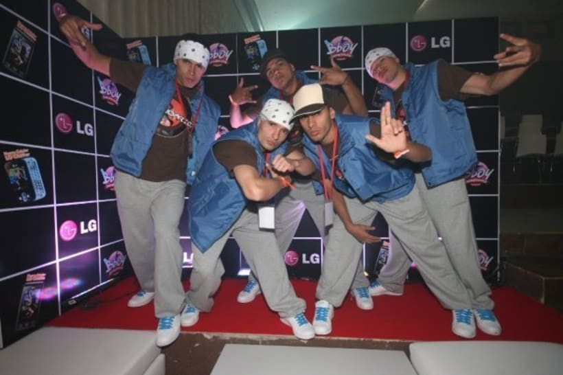 Tercer puesto en el LG Bboy Colombia  4