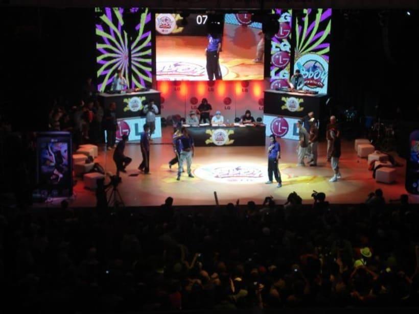 Tercer puesto en el LG Bboy Colombia  5