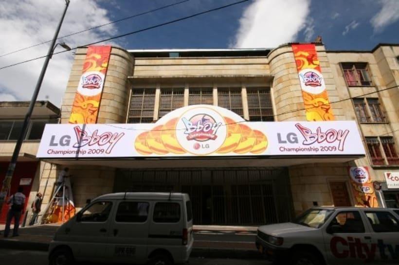 Tercer puesto en el LG Bboy Colombia  6