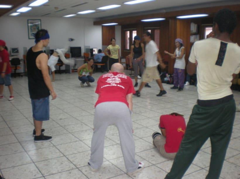 Jurado y tallerista Feminal battle 2010 4