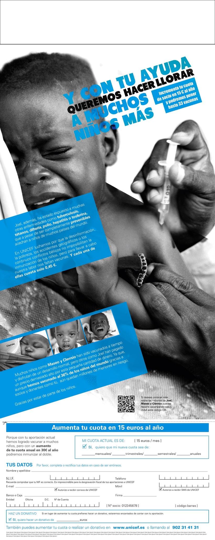 Unicef. Vacunación en África. 1