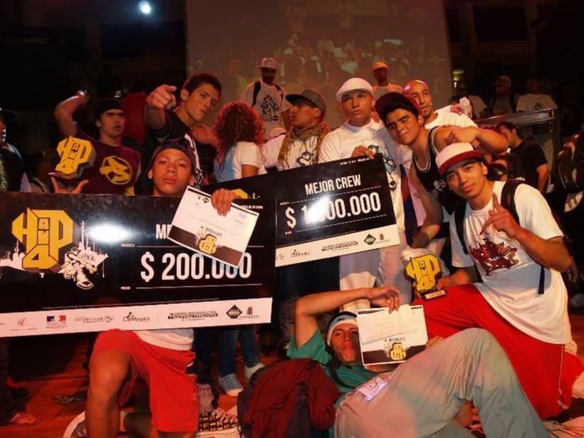 Campeones locales y nacionales de Hip4 2010 2