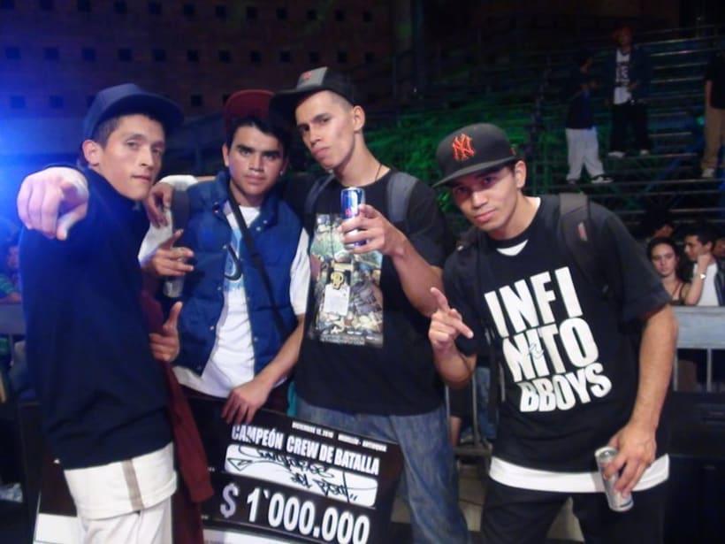 Campeones locales y nacionales de Hip4 2010 10