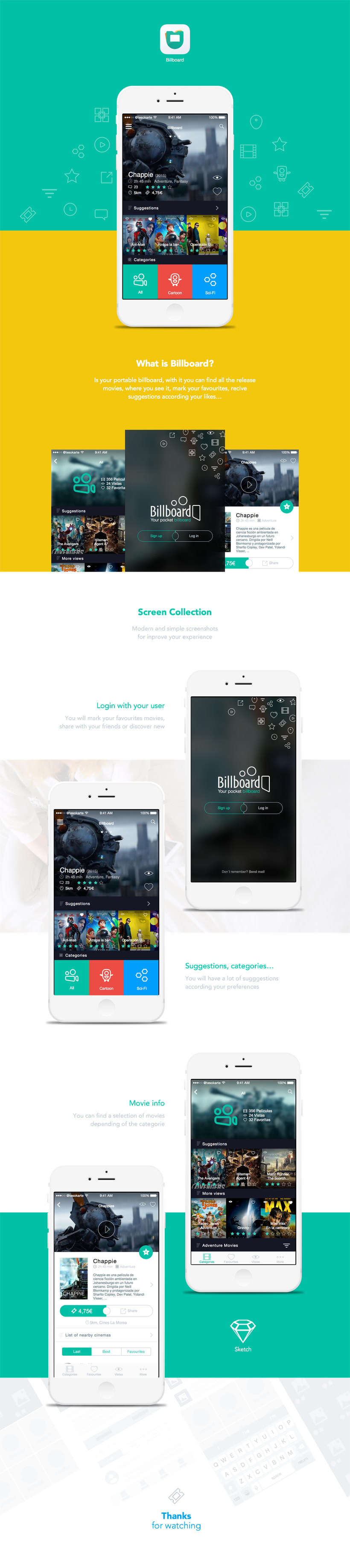 Billboard IOS APP 0