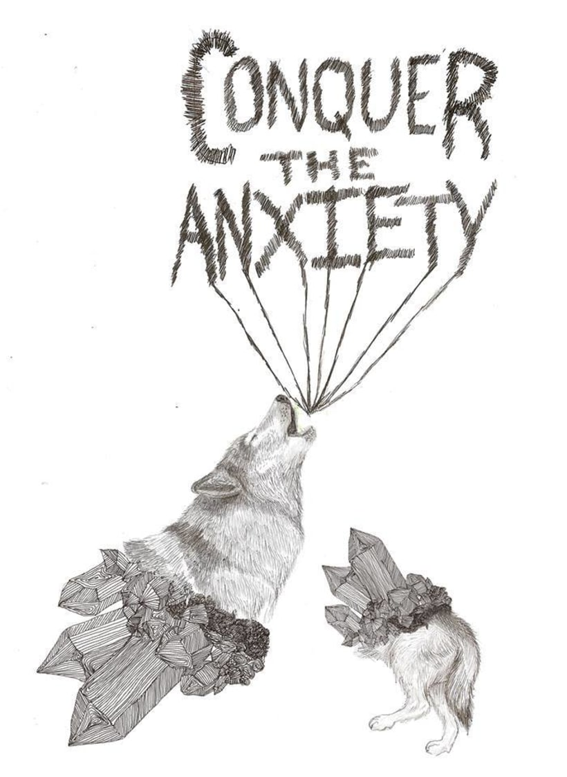 Cartel Conquer the Anxiety -1