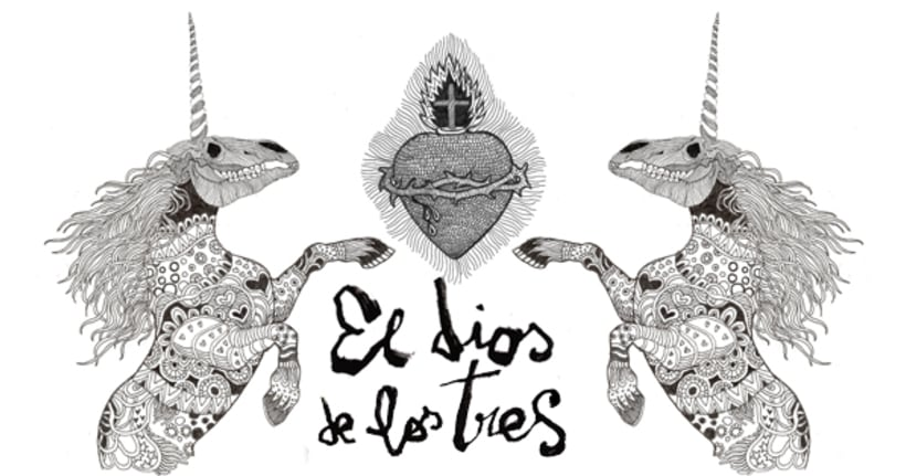 Banner publicitario para el Dios de los Tres -1