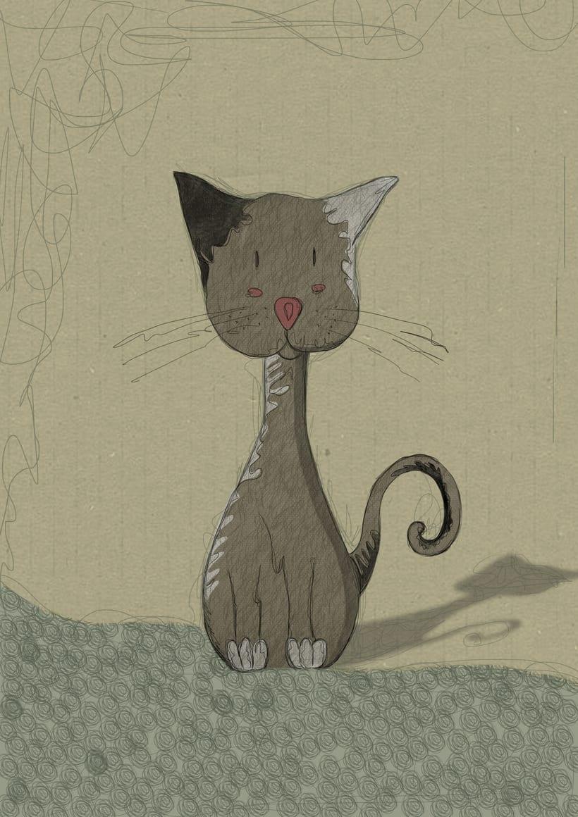 gatito ilustrado -1