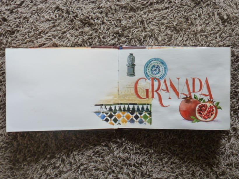 Libro de acuarelas de Granada -1