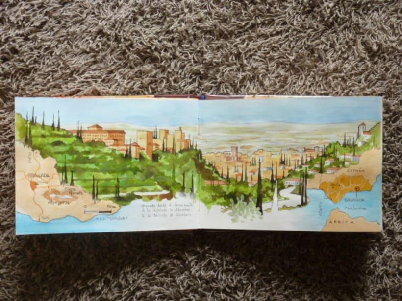 Libro de acuarelas de Granada 0