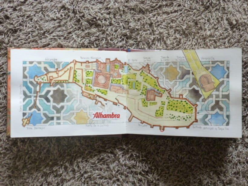 Libro de acuarelas de Granada 2