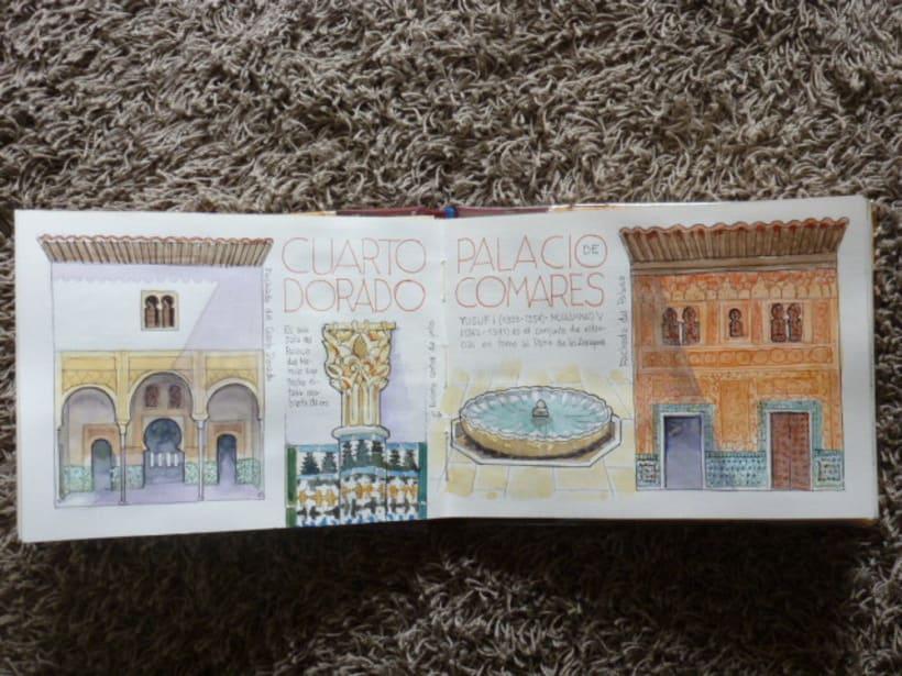 Libro de acuarelas de Granada 5