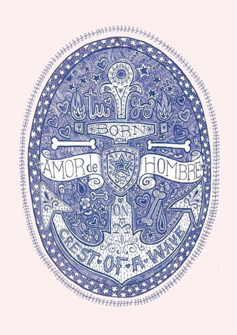Ilustración para EL Dios de los Tres -1