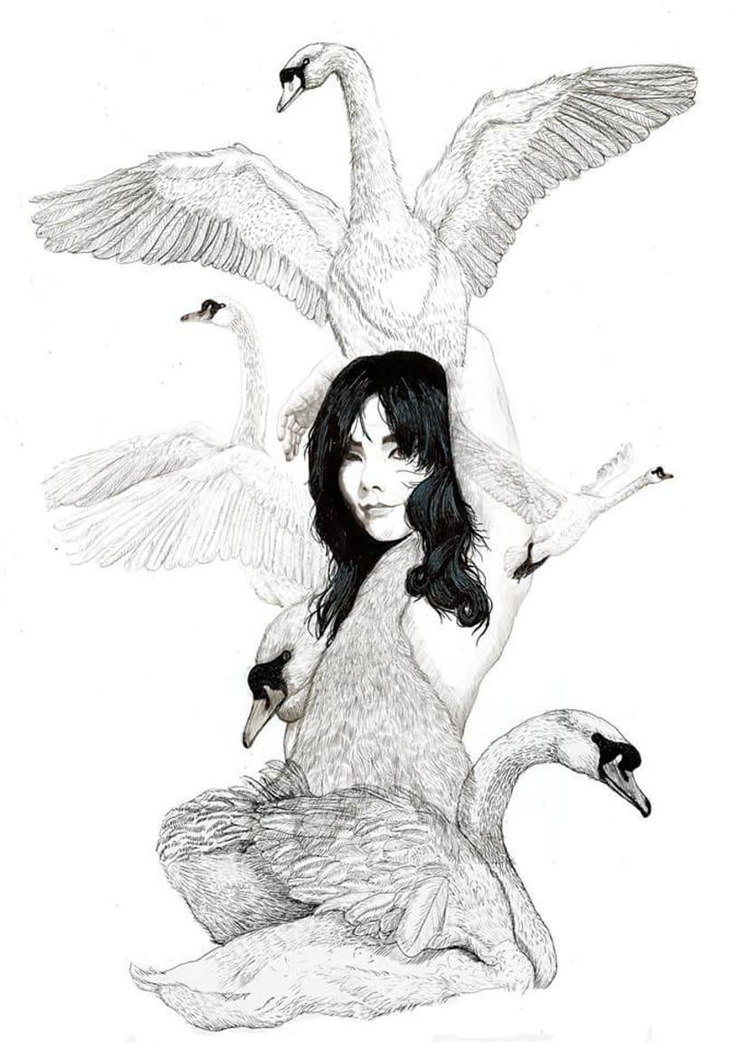 Ilustración para Björk   -1