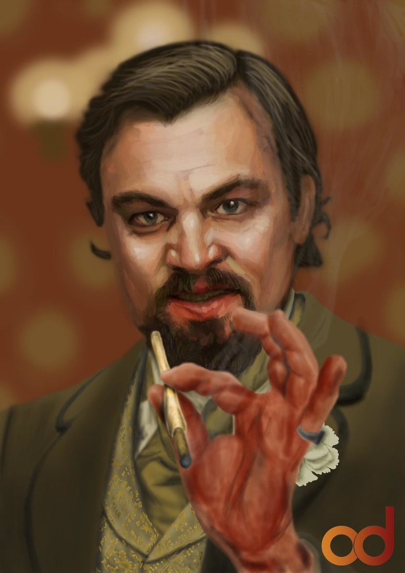 Leo DiCaprio, Django -1