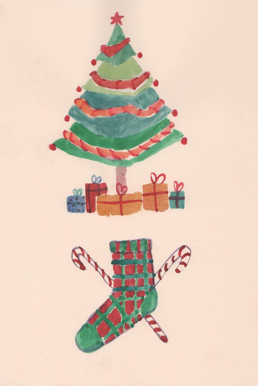 Ilustraciones Navidad 3