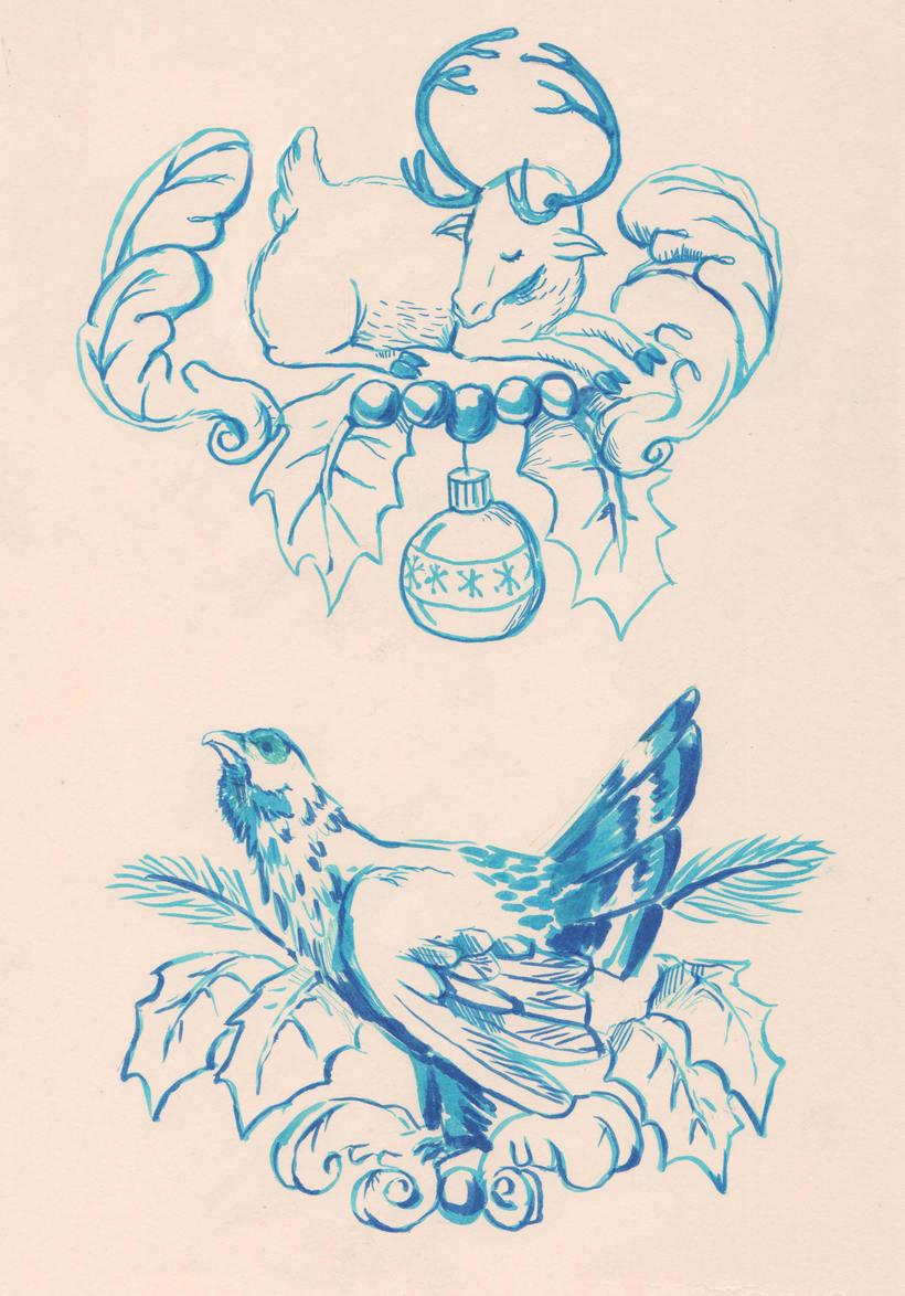 Ilustraciones Navidad 1