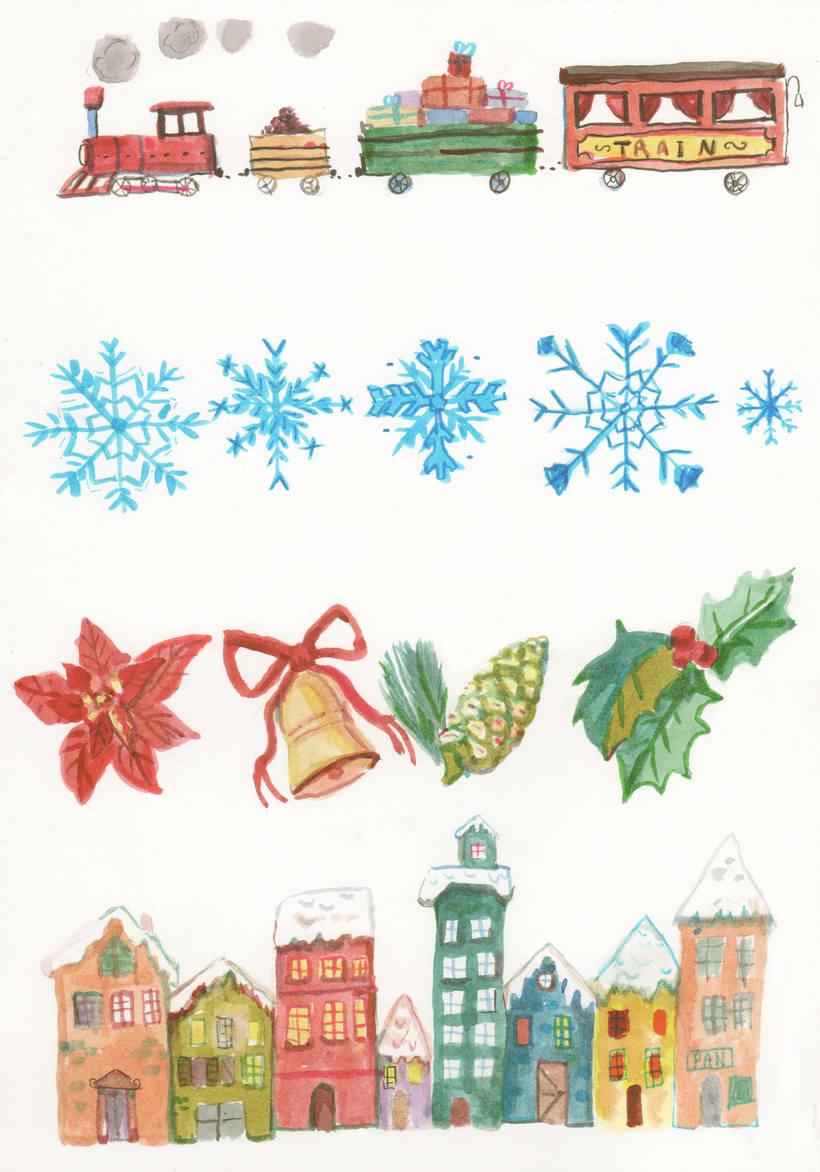 Ilustraciones Navidad 4