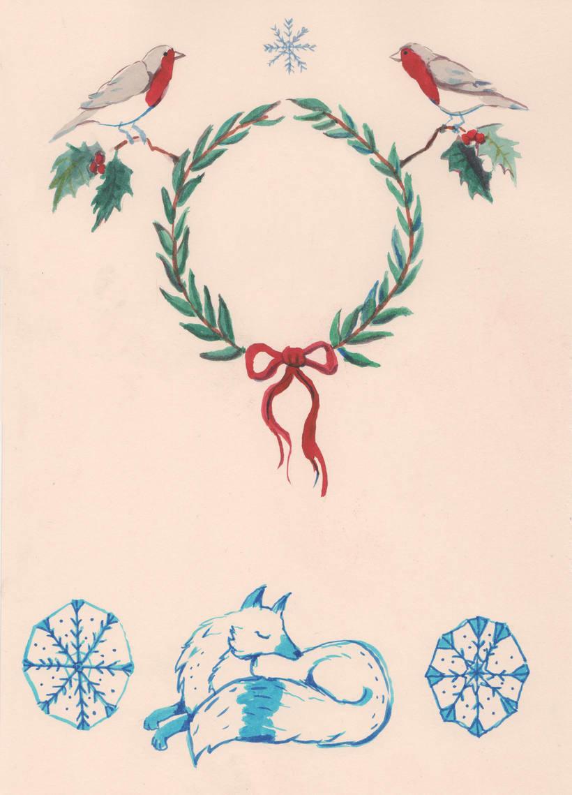 Ilustraciones Navidad 2