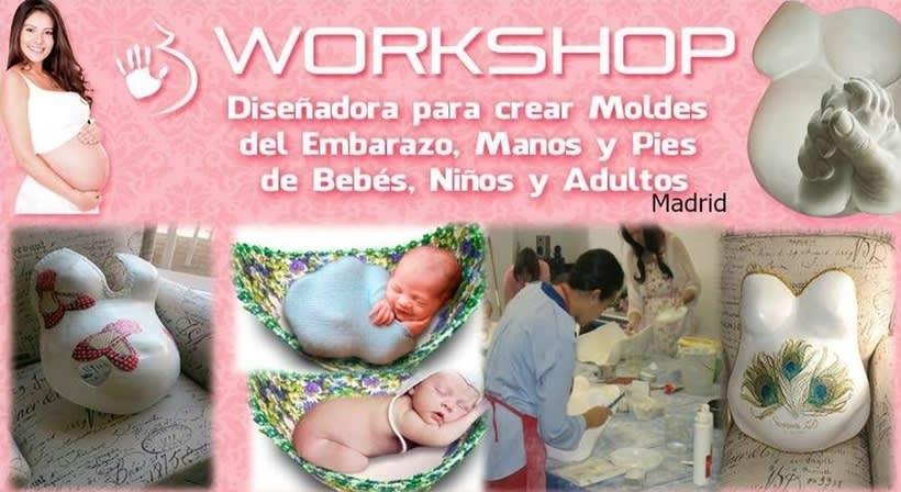 Crea  Moldes en 3D para Embarazadas,manos y Pies de Bebès, Niños y Adultos. 0