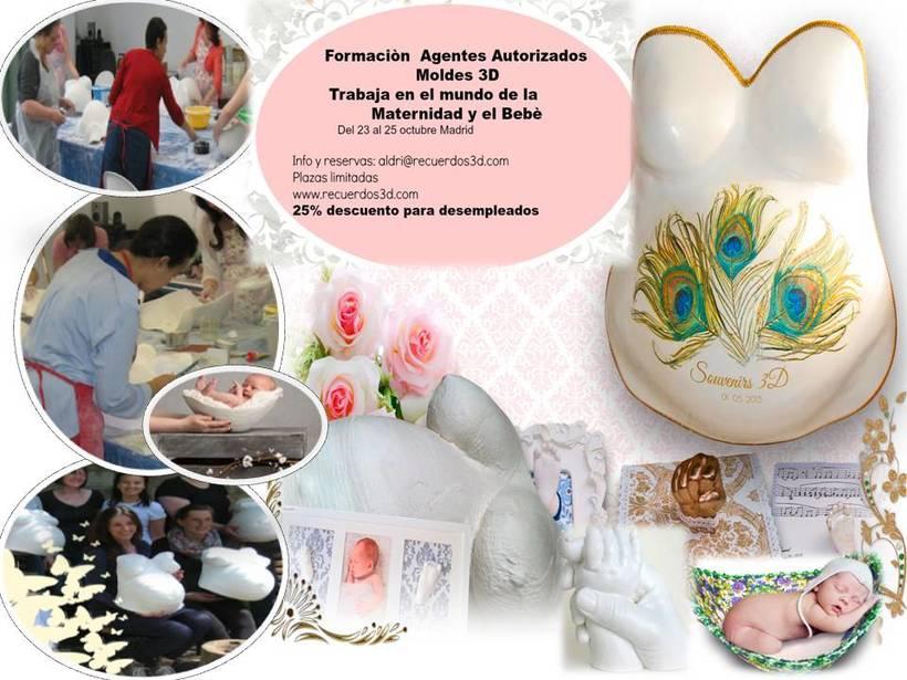 Crea  Moldes en 3D para Embarazadas,manos y Pies de Bebès, Niños y Adultos. 1