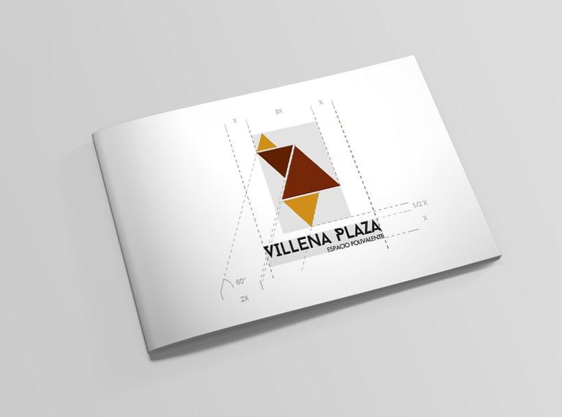 Villena Plaza. Identidad Corporativa 2